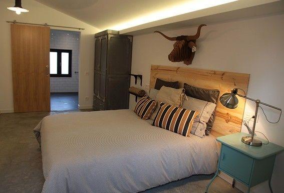 Habitación doble con baño. Servicio Casa Carmina albergue tur�stico Asturias