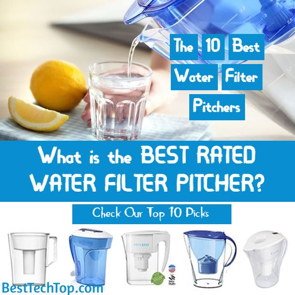 Best Water Filter Pitcher 2020 Comparison Buying Guide Best
