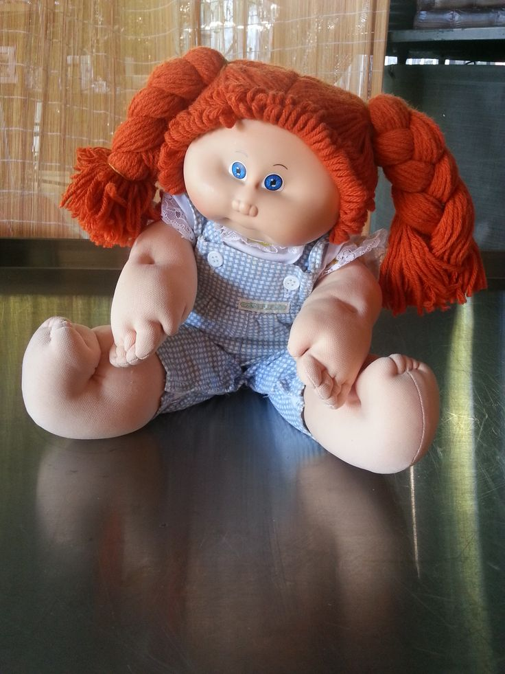 1982 Cabbage Patch redheaded doll  by Fiveseasons Madeforyou Kimberley on FB