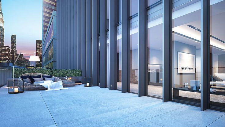 Soori High Line - Type G Unit - Outdoor area