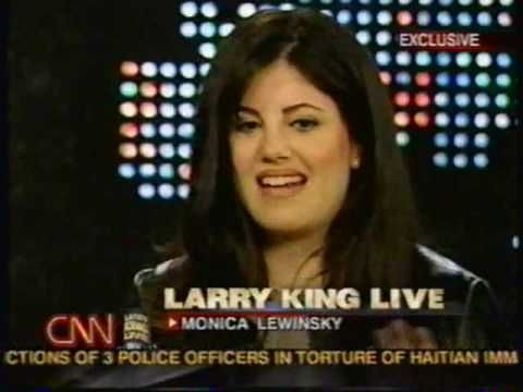 Monica Lewinsky on Larry King (part 3)