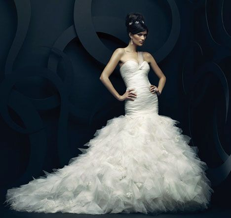174 best images about ines di santo bridal on pinterest for Ines di santo wedding dress