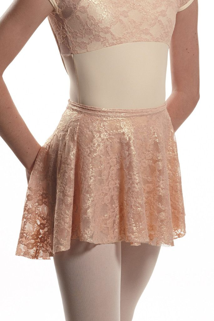 That's A Wrap Skirt - lavender lace