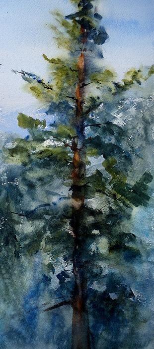 """""""San Jacinto Mountain Top""""   watercolor, original available.  sandystrohs@gmail.com"""