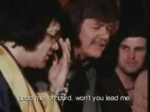 The Lighthouse lead me guide me turn your eyes upon Jesus Elvis Presley Live - Gospel session - YouTube