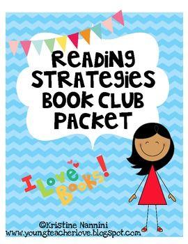 Reading Strategies Book Club Packet, freebie
