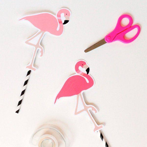 Mon cahier de vacances diy cocktails et flamants roses - Flamant rose deco ...