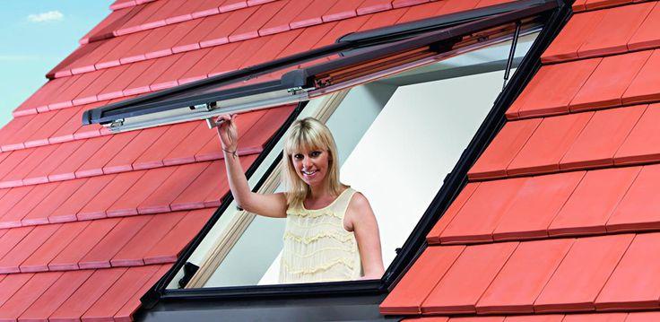 Střešní okna ROTO  Inteligentní technika zaručuje maximální komfort bydlení s dostatkem světla, volným přístupem k oknům a volným výhledem.  http://www.hzb.cz/menu-hlavicka/stresni-okna-roto/