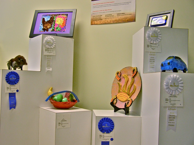 "2011 Calgary Stampede ""Creative Living Show"" Award Winners."
