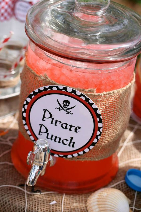 Pirate Party Planning Ideas Supplies Idea Cake Decorations/ Maybe blue for A pirate fairy theme for blue pixie dust?