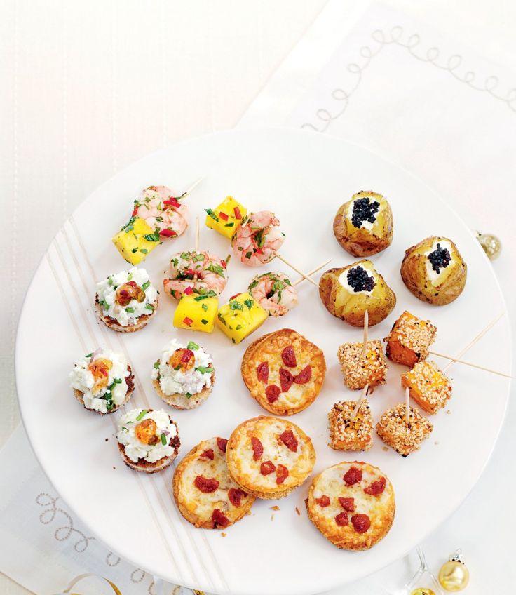 Minipizzor med chorizo och chili