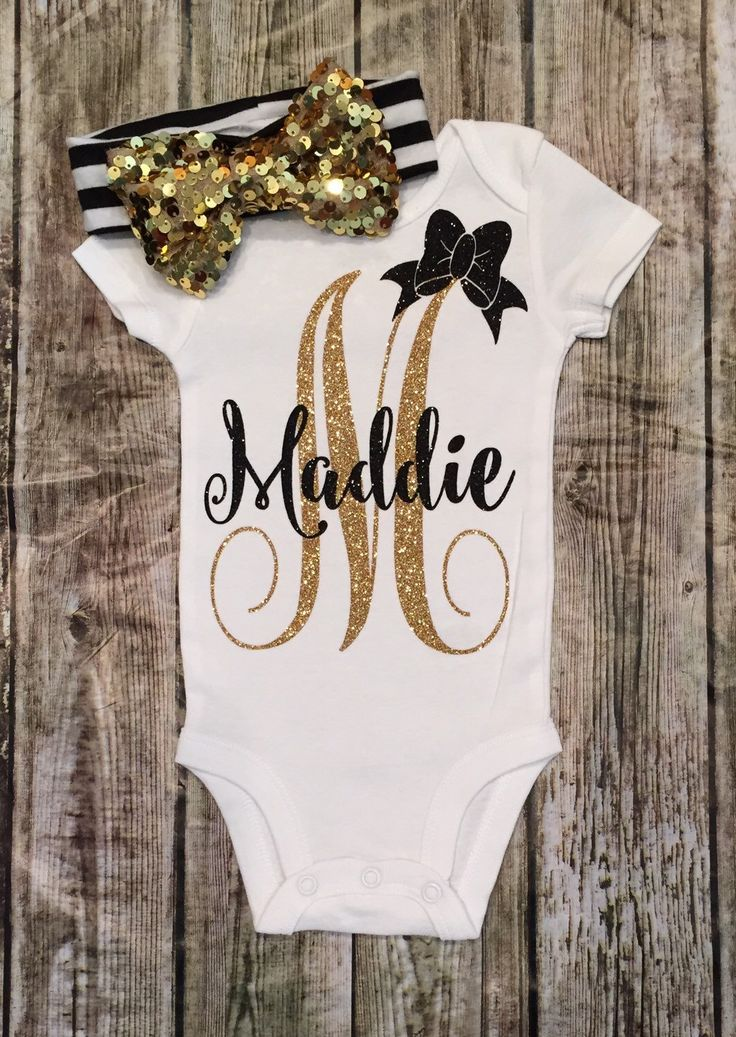 A personal favorite from my Etsy shop https://www.etsy.com/listing/271088909/personalized-monogram-bodysuit-sparkle