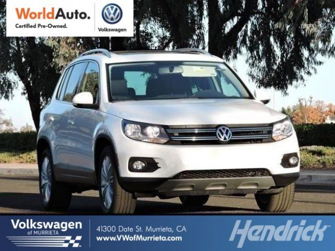 Certified 2015 Volkswagen Tiguan SEL Sport Utility for sale near you in MURRIETA, CA. Get more information and car pricing for this vehicle on Autotrader.