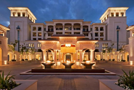 The iconic St. Regis brand in Abu Dhabi