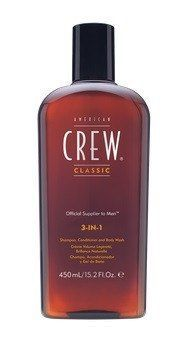 American Crew 3-In-1 Shampoo Conditioner and Body Wash 15.2 oz