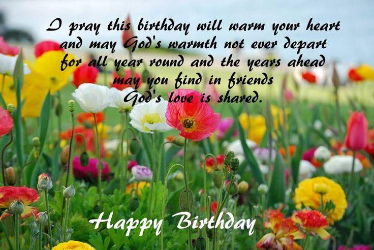Birthday wishes - poppy field