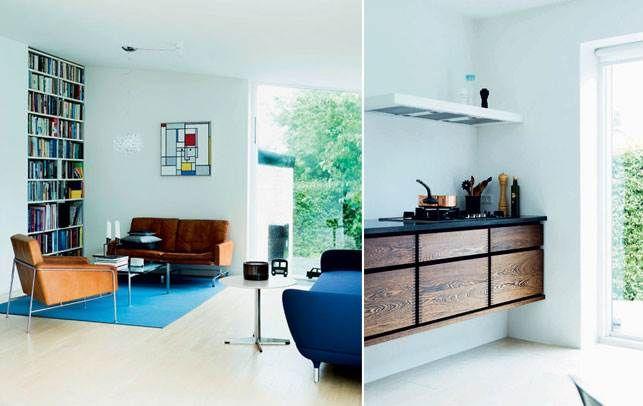 Moderne 50'er-hus: Rene linjer og masser af sjæl