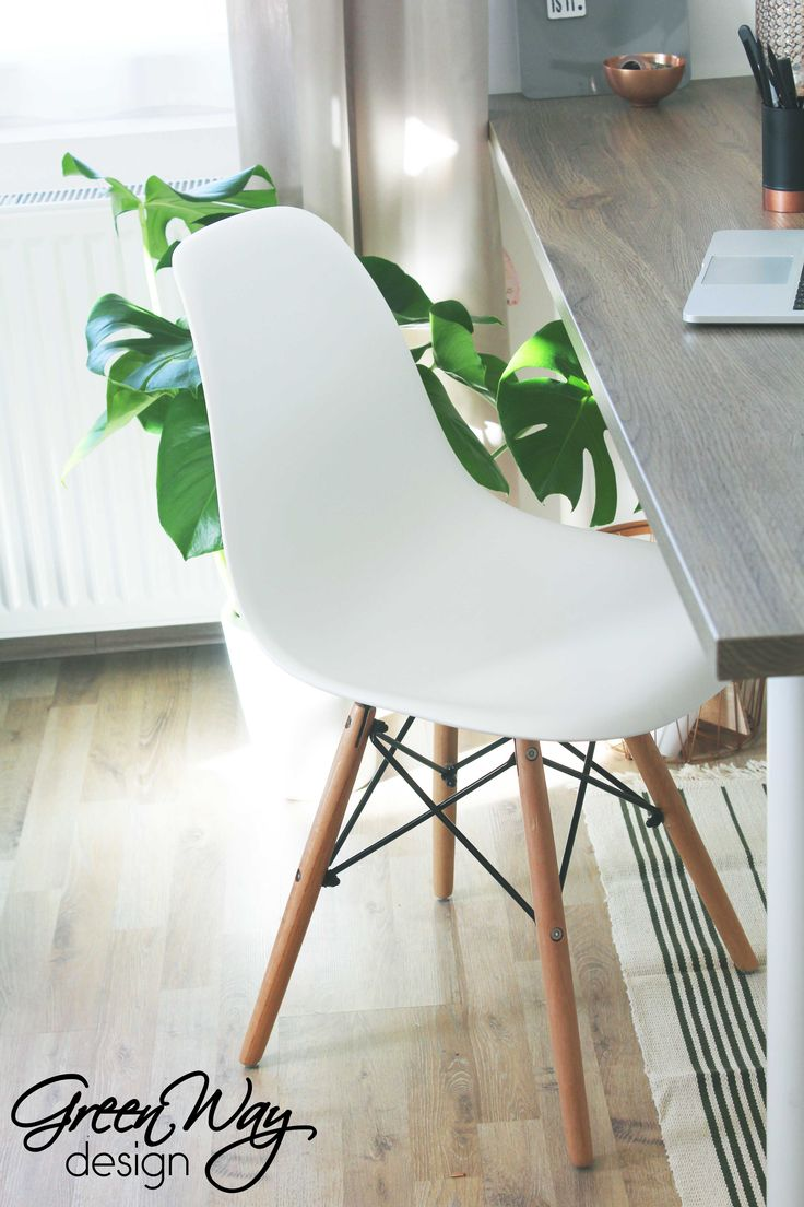 Workspace with eames chair ;-)