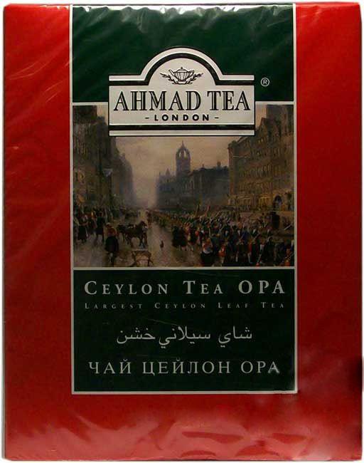 Ahmad Tea London Ceylon Tea Opa (Largest Ceylon Leaf Tea) 16 OZ (454 Grams)