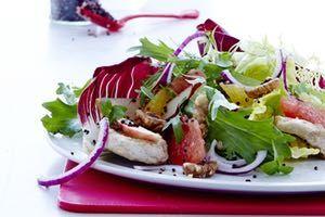 Smagfuld salat med jordskokker og stenbiderrogn - Måltid