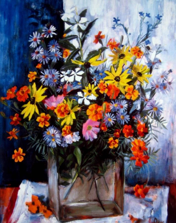 Summer Flowers, Margret OLLEY