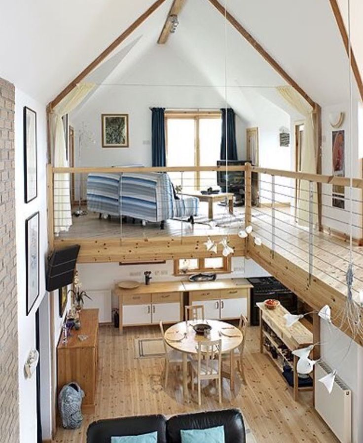Love The Loft And The Decor Tiny House Tiny Houses Plans With