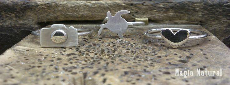 Anillos de Plata 925 realizados a mano