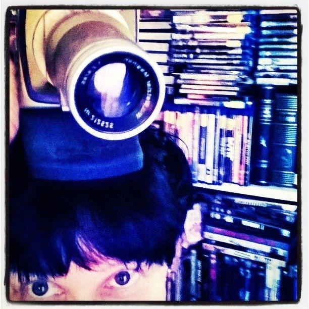 """4 tykkäystä, 1 kommenttia - Valokuvaaja (@satuylavaara) Instagramissa: """"Another #Kika ~ish #Almodóvar ish Victoria Abril Andrea #halbermensch #robota #rabata #kamera…"""""""