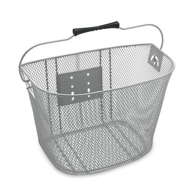 for my Electra Townie    368740  QUICK RELEASE WIRE FRONT BASKET (Silver)  $39.99