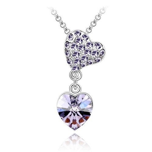 #Amethyst #Crystal #Heart #Pendant, Elegant & #Fashionable Women #Necklace, 18K White Gold Plated, Free 18 Inch Chain http://www.jewelry-warehouse.net/90-off/amethyst-crystal-heart-pendant-elegant-fashionable-women-necklace-18k-white-gold-plated-free-18-inch-chain-super-nice/ $24.99