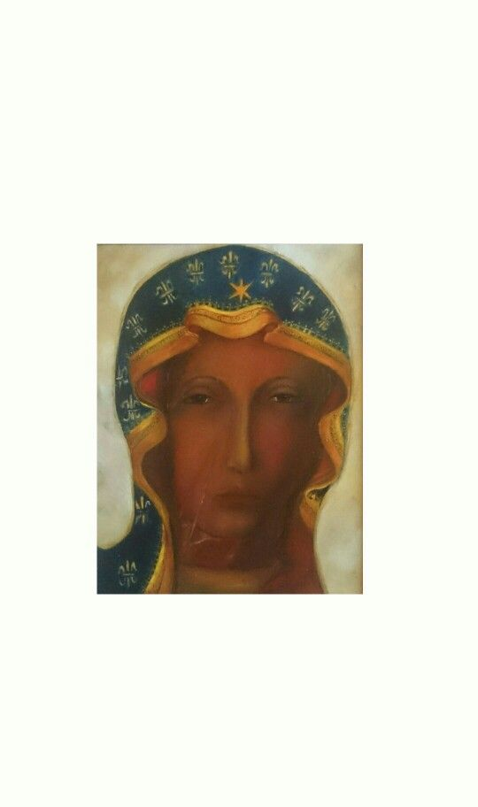 """Madonny""-cykl Matka Boska Krolowa Polski, Oil 40/50  2014"