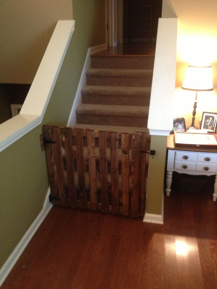 Custom Wood Baby Gate Woodworking Projects Plans