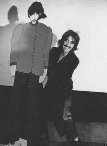George Harrison with george