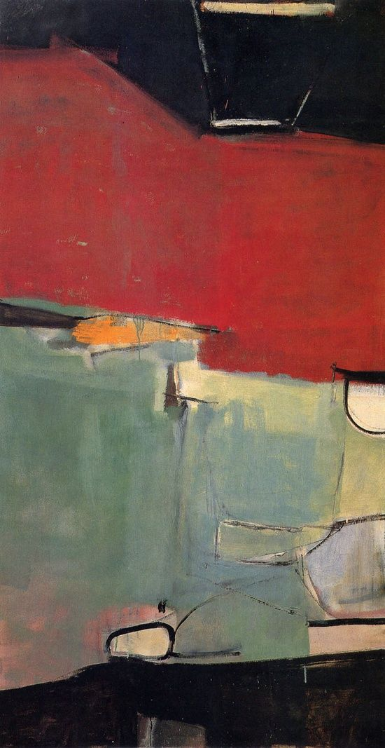 #JohnWard likes Richard Diebenkorn's artwork..