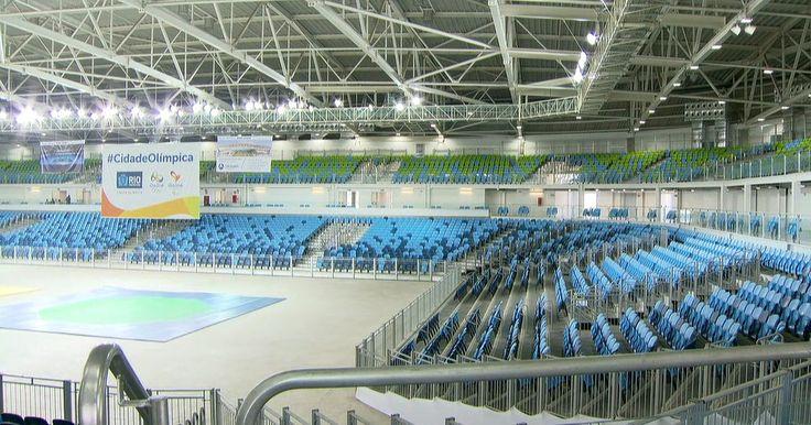 Paes inaugura Arena Carioca 3 no Parque Olímpico, no Rio