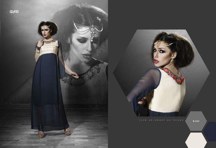 Indian Bollywood  Kurti Designer Salwar Kameez Women Ethnic Dress Top Tunic