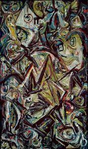 Reine Troubled - (Jackson Pollock)
