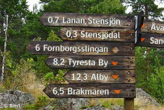Tyresta National Park; Fornborsslingan Trail - Sweden!