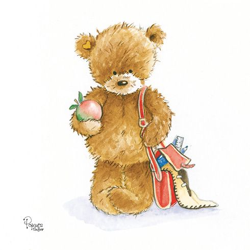 71 best popcorn the bear images – Charity Birthday Cards