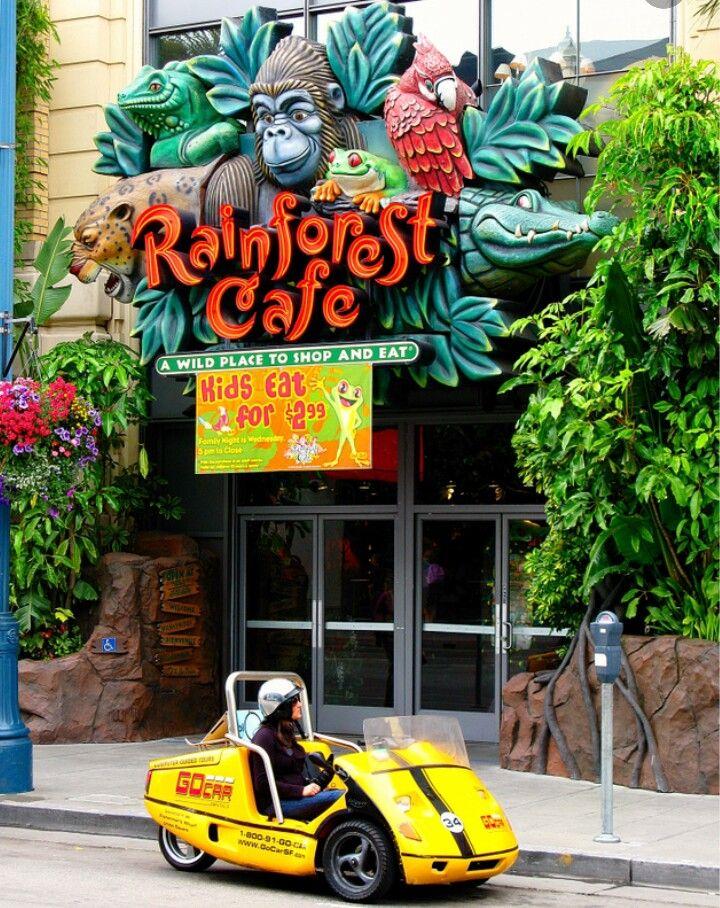 Rainforest Cafe San Mateo California