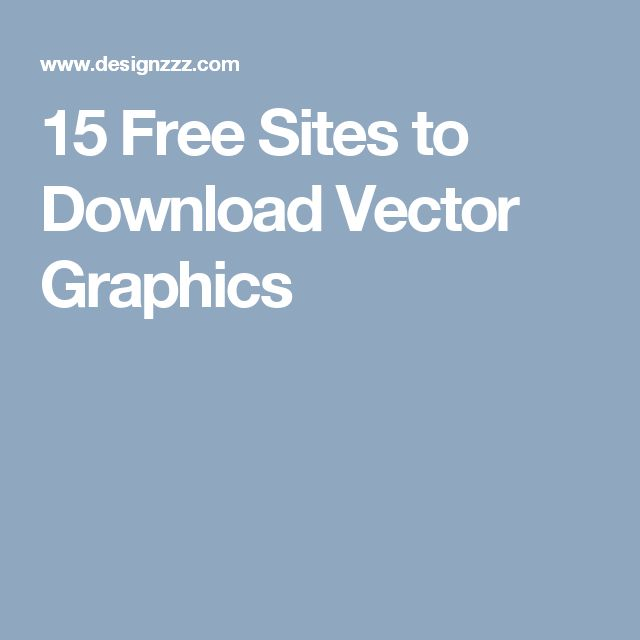 15 Free Sites to Download Vector Graphics