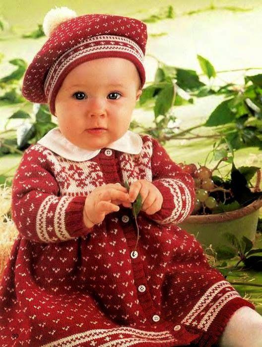 Модели вязания: Комплект для девочки