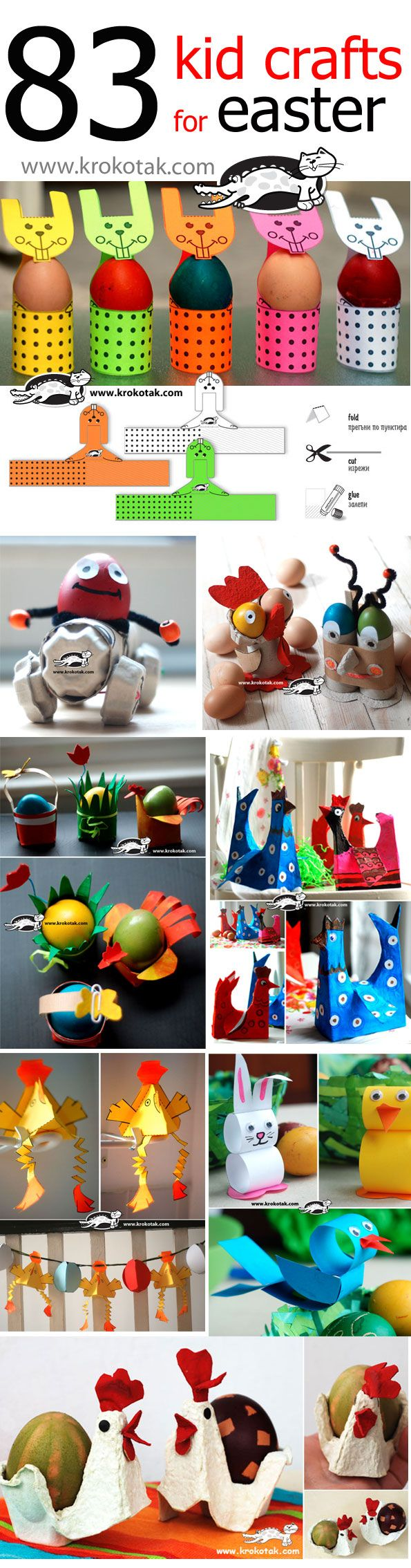 83 kid crafts for EASTER