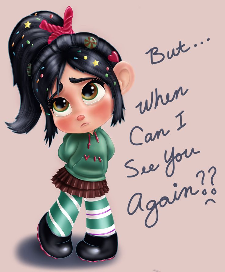 Oh Vanellope, Ralph will be back - don't you worry! ^^  It's been really busy this Easter weekend with family and travel but I was able to find some quiet time to finish and post this sad little girl. I think she turned out super cute and I hope you feel the same way. ^^  Vanellope von Schweetz is a lead character in the Disney movie Wreck-it Ralph.