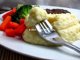 Just Try & Taste: Creamy Mashed Potato: Yuk membuat kentang tumbuk laziz a la restoran!