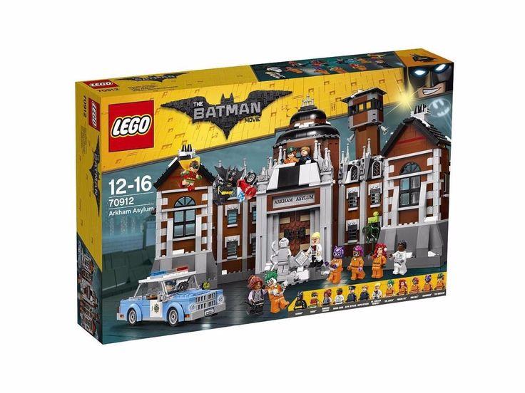 Trending04 The LEGO Batman Movie Arkham Asylum Set