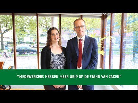 Marcel Zondervan, Manager Informatisering & Automatisering en Marguerite Meijer, Applicatieadviseur bij Woonstad Rotterdam Vertellen waarom zij hebben gekoze...