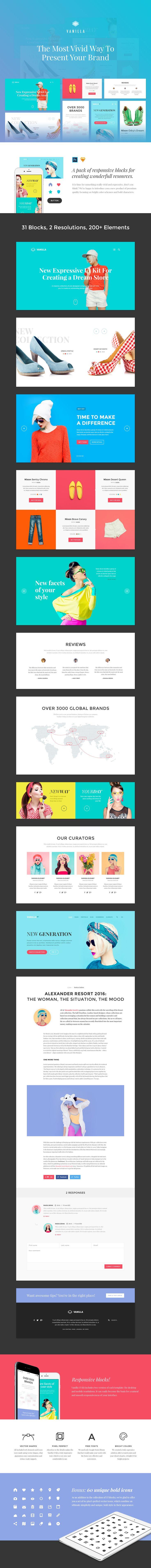 Vanilla UI Kit on Behance