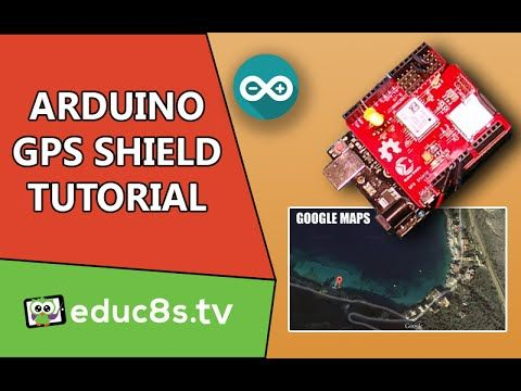 Arduino Tutorial: Arduino GPS tutorial with MakerStudio GPS shield and Arduino Uno. Easy DIY project - YouTube
