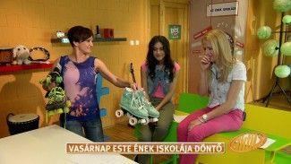 AZ ÉNEK ISKOLÁJA / Wolf Kati és Horváth Alexandra: Hush Hush / tv2.hu / TV2